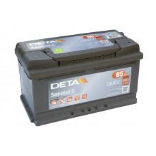 Akumulators 12V, 85Ah, DETA SENATOR 3
