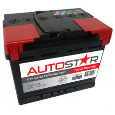 Akumulators 12V, 58Ah, AUTO STAR