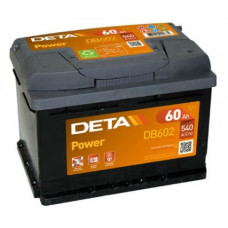 Akumulators 12V, 60Ah, DETA POWER