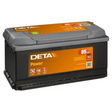 Akumulators 12V, 85Ah, DETA POWER