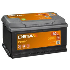Akumulators 12V, 80Ah, DETA POWER