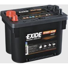 Akumulators, 50Ah, EXIDE